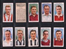 Tobacco cards cigarette cards Association footballers